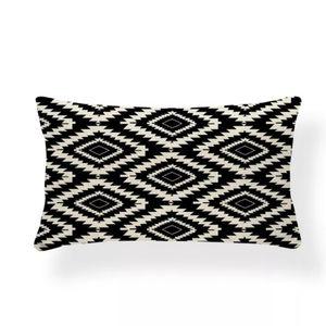 💙JUST IN💙Black & Beige Geometric Pillowcase (#9)